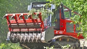Самоходный лесной мульчер RT 400